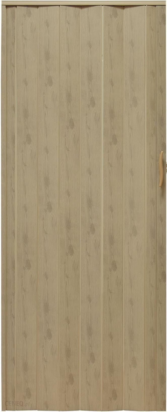 Gockowiak Drzwi Harmonijkowe 001P 48 G Wiąz Mat G 90Cm