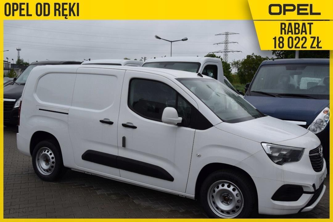 Opel Combo Cargo L2H1 100Km Ekran Dotykowy 8cali Opinie i ceny na Ceneo.pl