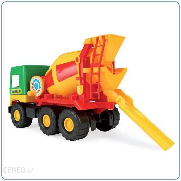 Wader Middle Truck Betoniarka 38 Cm 32001 Ceny I Opinie Ceneo Pl