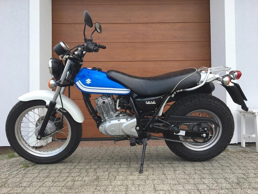 Suzuki Vanvan Rv 125 Ostatnia Seria Produkcyjna Opinie I Ceny Na Ceneo Pl