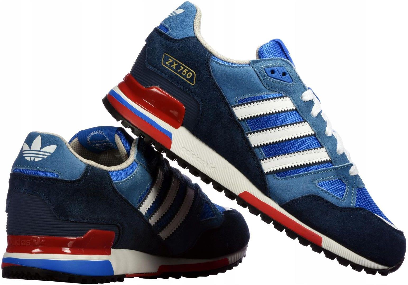 Buty męskie adidas Originals ZX750 G96718 r 43,3 Ceny i opinie Ceneo.pl