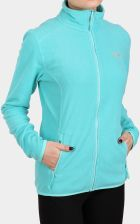 The North Face Polar Damski 100 Glacier Full Zip Mint Blue Stripe
