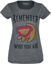 The Lion King - Remember Who You Are - T-Shirt - szary - zdjęcie 1