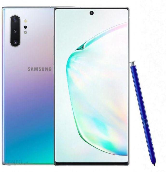 Samsung Galaxy Note 10 Plus Sm N975 12 256gb Aura Glow Cena Opinie Na Ceneo Pl