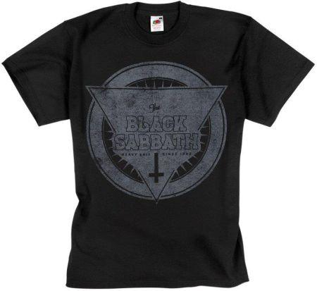 ROCK STAR WORLD KOSZULKA BLACK SABBATH - HEAVY SHIT SINCE 1969 - Ceny i opinie T-shirty i koszulki męskie VWJX