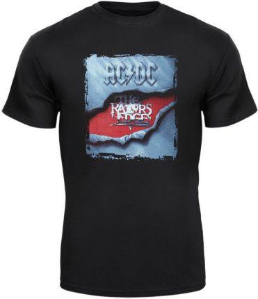 MERCHANDISE ROCK'N'ROLL MANIA KOSZULKA AC/DC - THE RAZORS EDGE - Ceny i opinie T-shirty i koszulki męskie TMKI