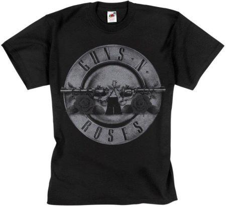 MERCHANDISE ROCK'N'ROLL MANIA KOSZULKA GUNS N' ROSES - BULLET LOGO - Ceny i opinie T-shirty i koszulki męskie RFGX