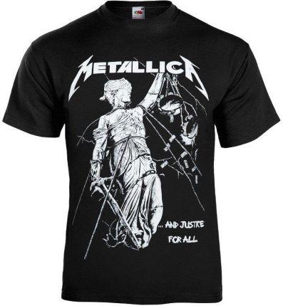 MACEDONIA KOSZULKA METALLICA - ...AND JUSTICE FOR ALL - Ceny i opinie T-shirty i koszulki męskie OTDO