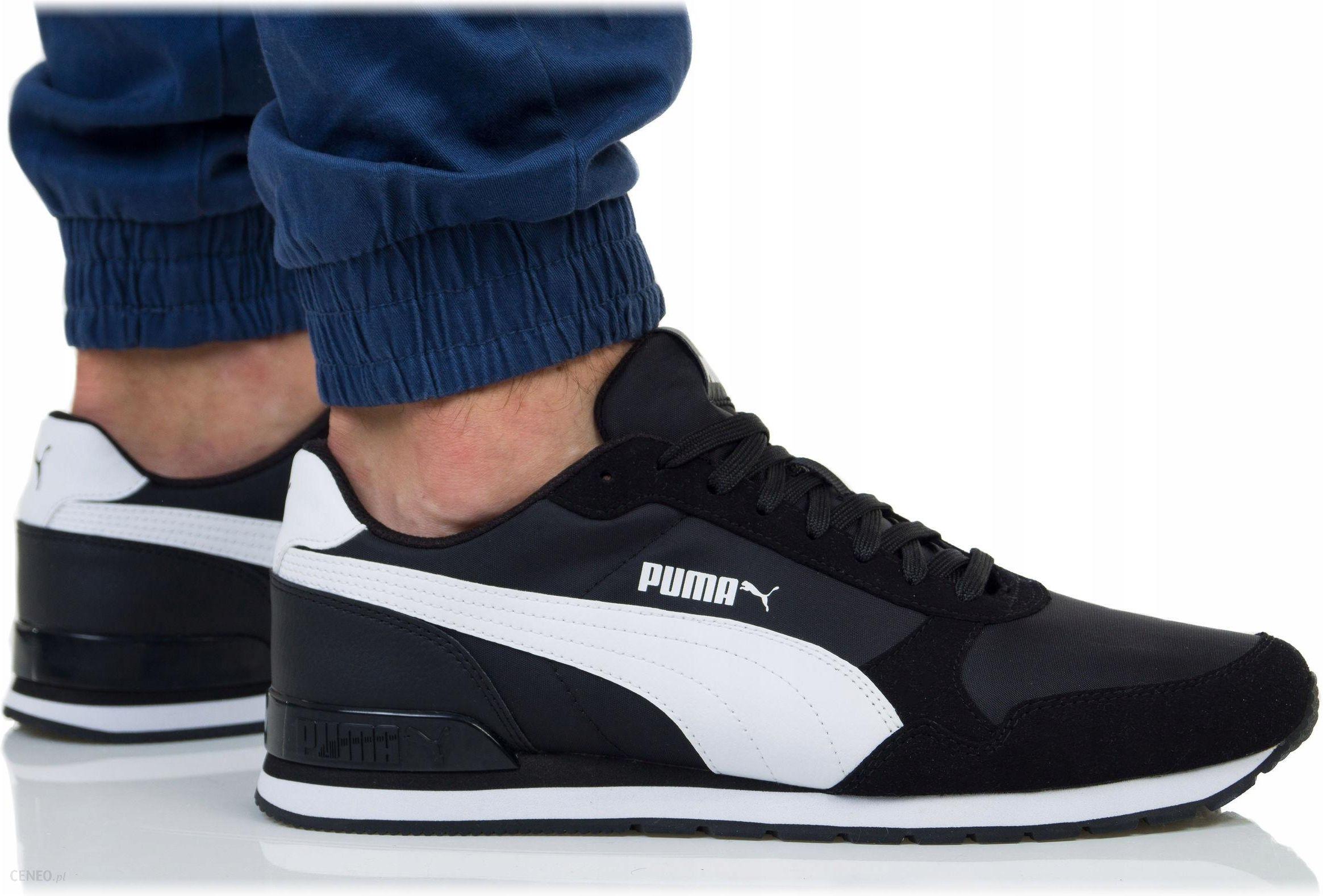 Buty Puma Męskie St Runner V2 Nl 365278 01 Czarne Ceny i opinie Ceneo.pl