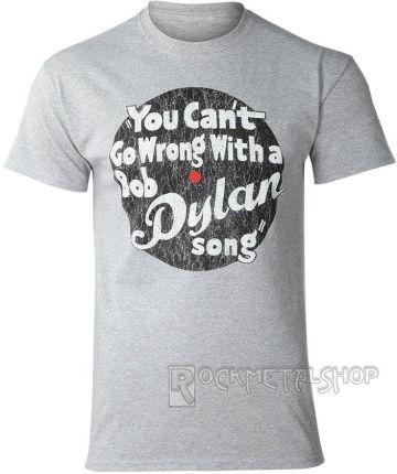 ROCK OFF KOSZULKA BOB DYLAN - YOU CANT GO WRONG - Ceny i opinie T-shirty i koszulki męskie AKAW