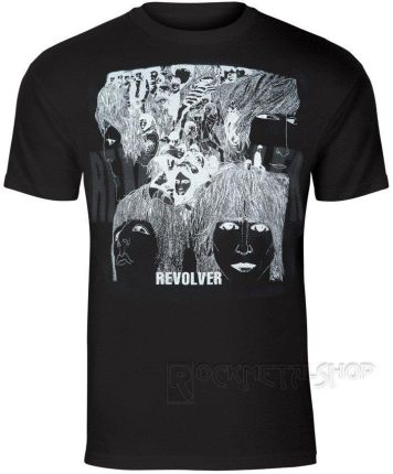 ROCK OFF KOSZULKA THE BEATLES - REVERSE REVOLVER - Ceny i opinie T-shirty i koszulki męskie PVMT