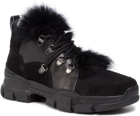 Deichmann buty damskie Adidas Hoopster Mid czarne Ceny i