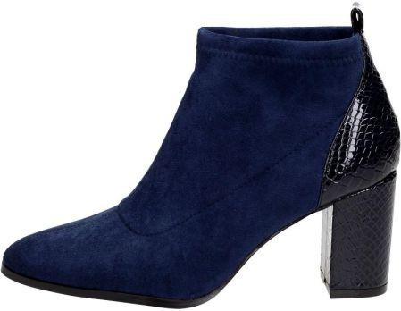 sports shoes ed4d3 2edc1 Calvin Klein SANDRIA Botki na obcasie black - Ceny i opinie ...