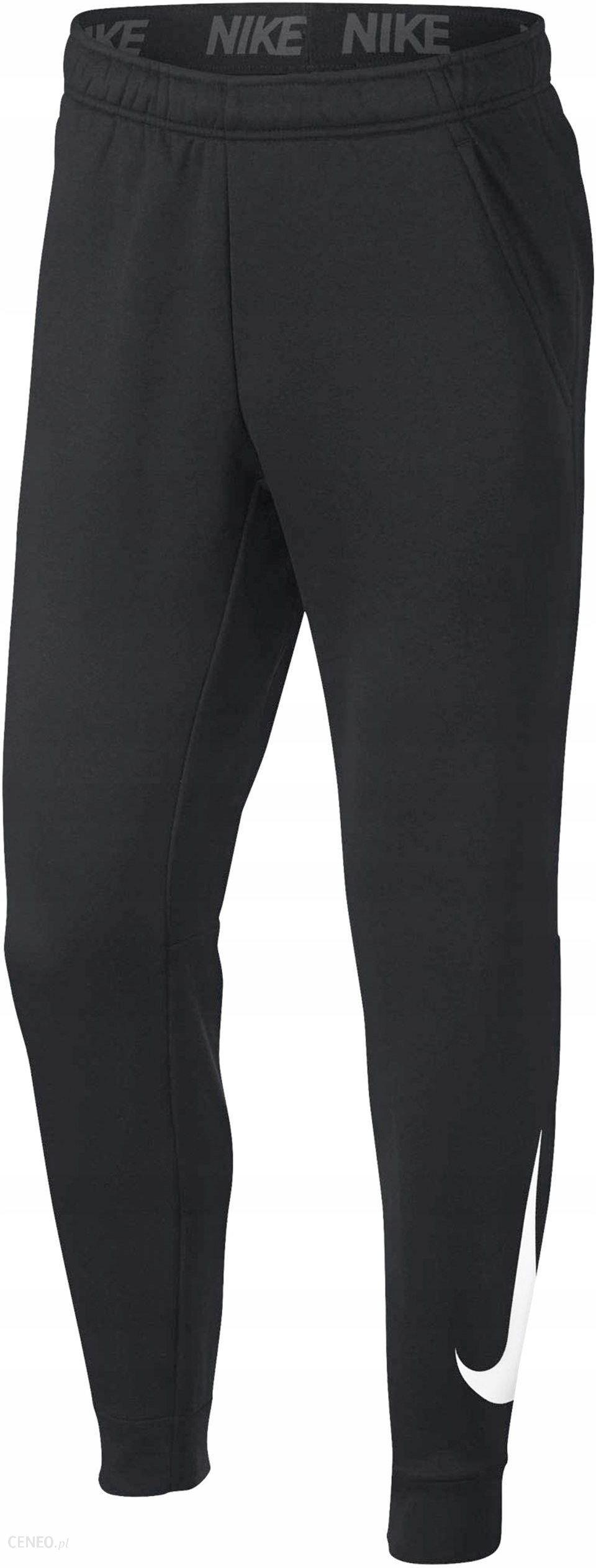 Spodnie Nike Dresowe Therma 932257 010 R. L Ceny i opinie Ceneo.pl