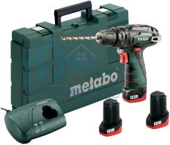 Metabo Akumulatorowa Wiertarka Udarowa Powermaxx Sb Basic Set 600385960