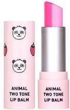 Skin79 Animal Two-Tone Lip Balm Strawberry Panda Balsam Do Ust W Sztyfcie 3,8G