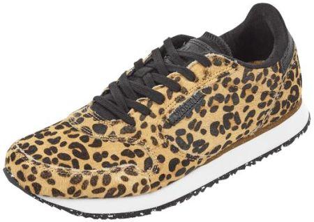 Sneakersy ze skóry welurowej i z tkaniny na koturnie Tamaris Sneakersy damskie czarne w Peek & Cloppenburg