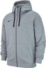 Bluza męska Nike Team Club 19 Full Zip Fleece Hoodie j.szary AJ1313 063
