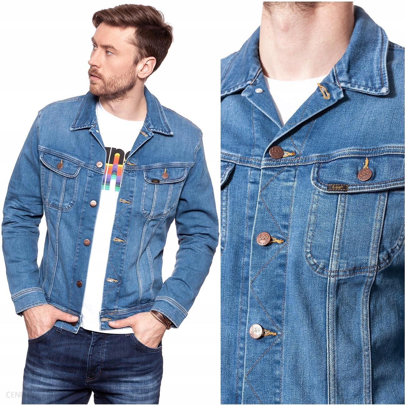 kurtka jeansowa męska xxl