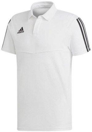 Bawełniana koszulka polo ADIDAS TIRO 19 DU0870 - Ceny i opinie T-shirty i koszulki męskie YWVE