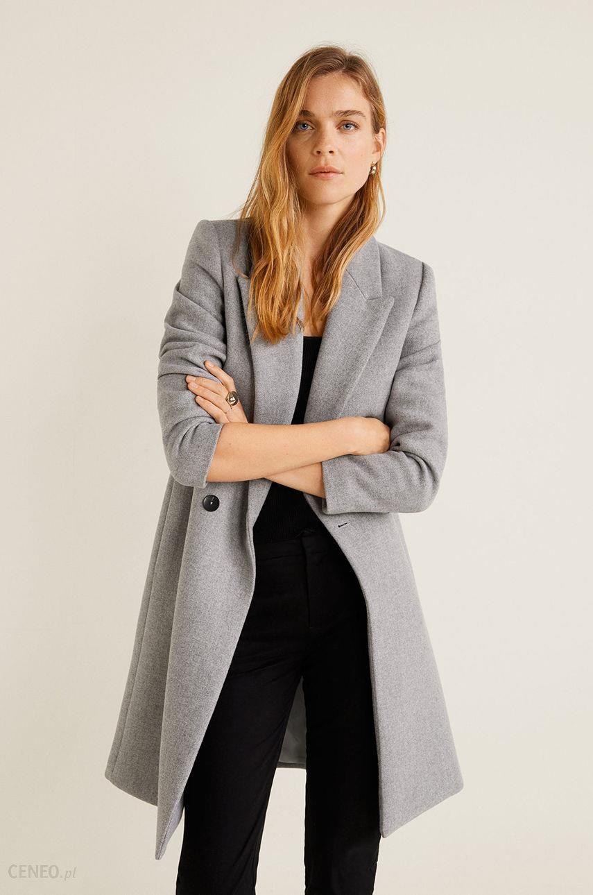 Mango CITRUS Płaszcz wełniany Płaszcz klasyczny grey