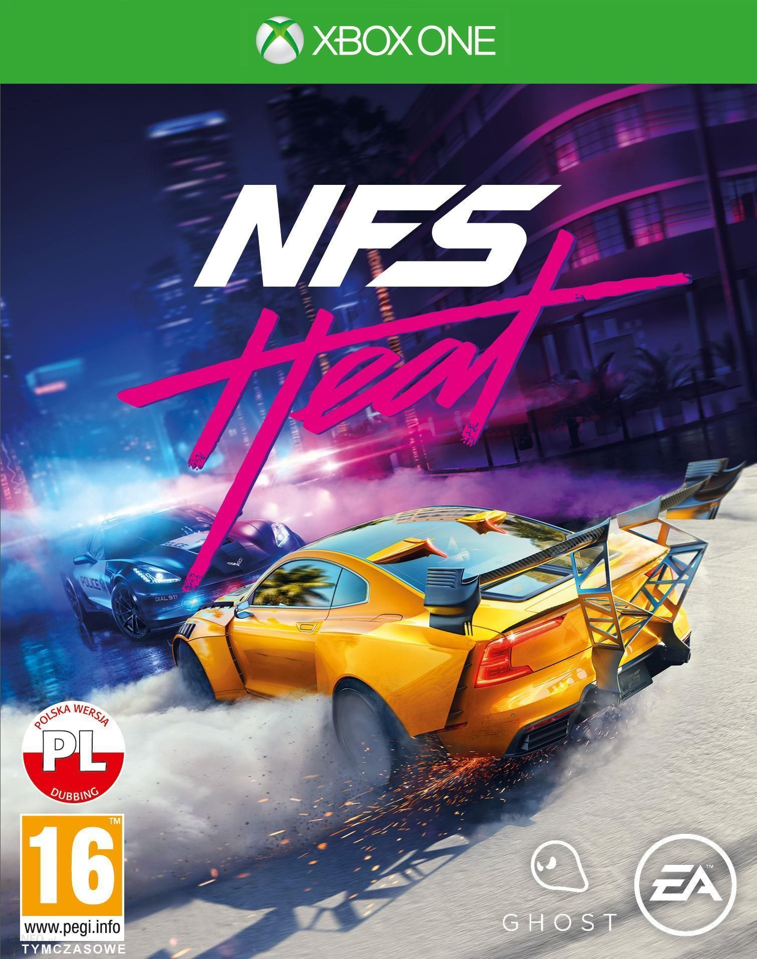 Need For Speed Heat Gra Xbox One Od 98 00 Zl Ceny I Opinie Ceneo Pl