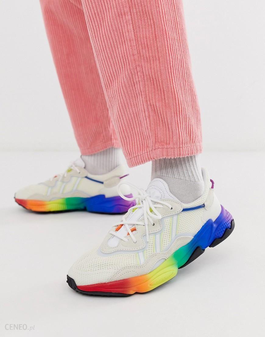 adidas Originals ozweego pride trainers in multi Multi
