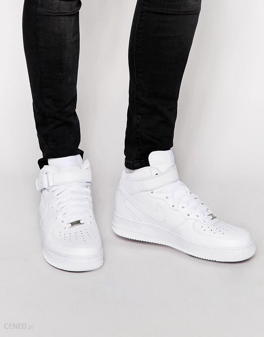 Nike Air Force 1 Mid '07 Trainers In White 315123 111 White