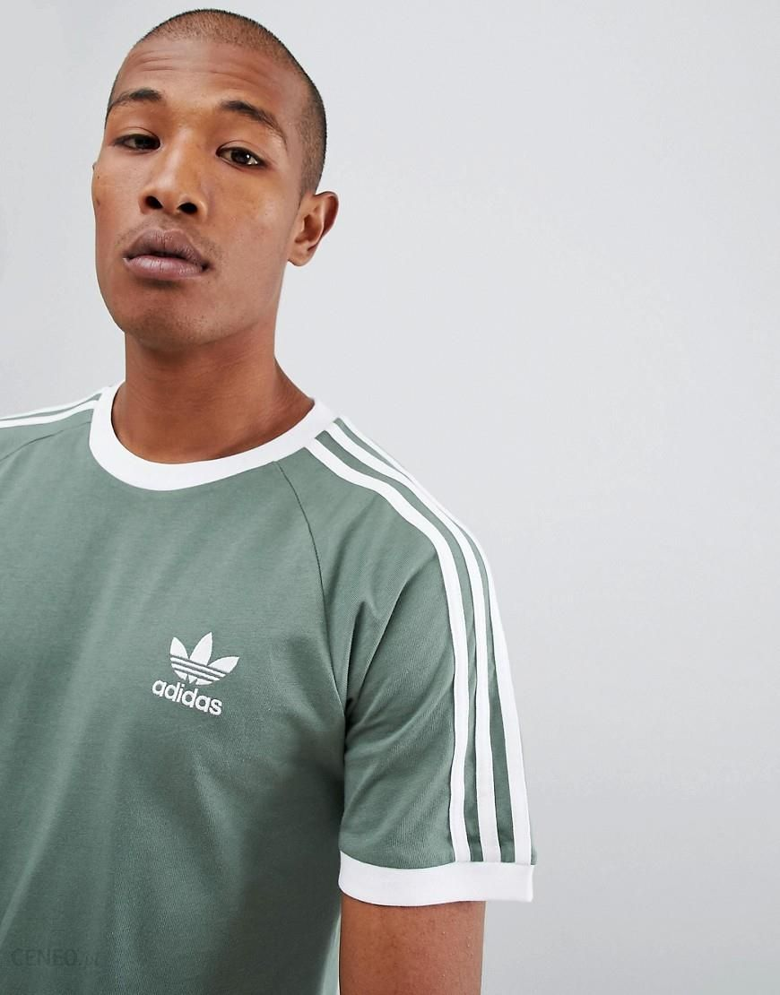 adidas Originals California T Shirt In Green DV2553 Green