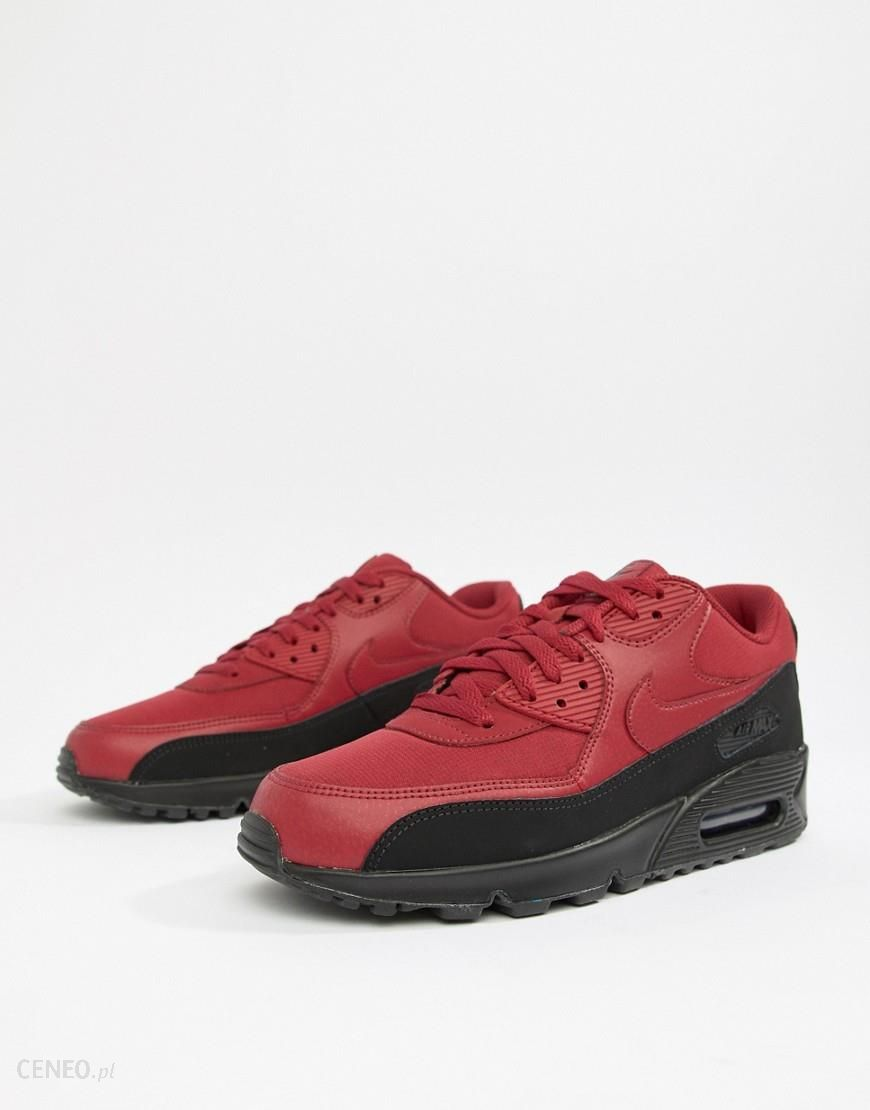 Nike Air Max 90 Essential Trainers In Red AJ1285 010 White