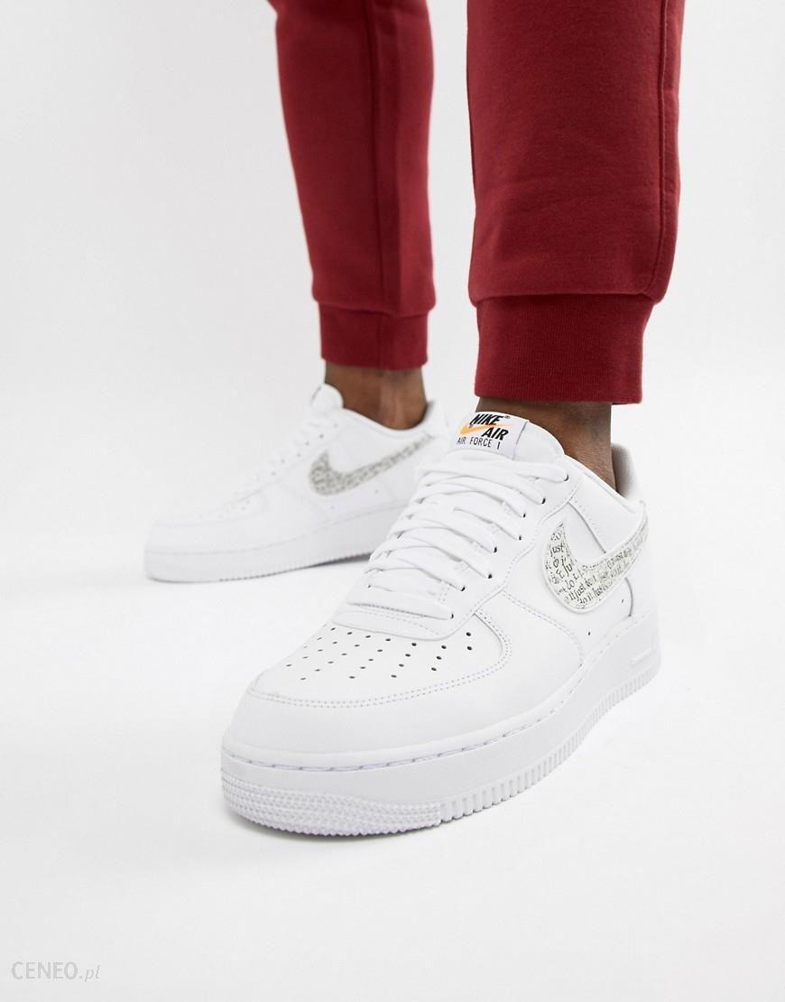Nike Air Force 1 07 Trainers White Buty męskie białe w Asos