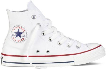 Converse Trampki Chuck Taylor All Star Hi Skórzane, białe
