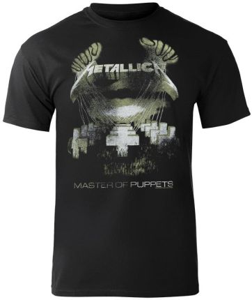 ATMOSPHERE APPAREL KOSZULKA METALLICA - MOP DISTRESSED - Ceny i opinie T-shirty i koszulki męskie OZFV