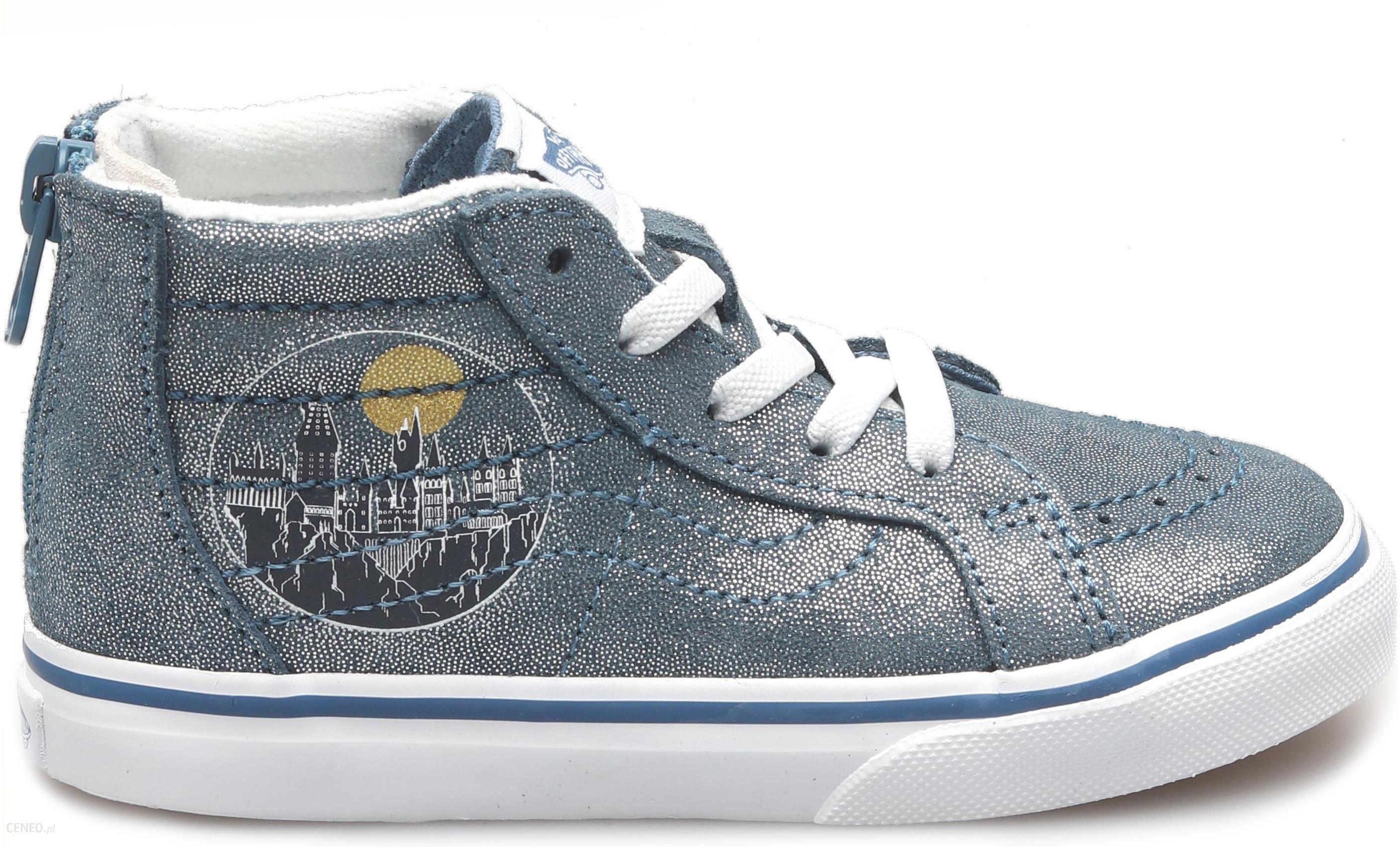 Vans tenisówki chłopięce UY Old Skool 34 niebieskie
