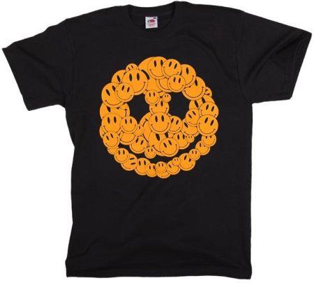 KOSZULKA PACYFKA - SMILEY - Ceny i opinie T-shirty i koszulki męskie EZFJ