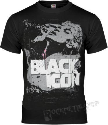 BLACK ICON KOSZULKA - MISS MY I (MICON077 BLACK) - Ceny i opinie T-shirty i koszulki męskie ZKWD