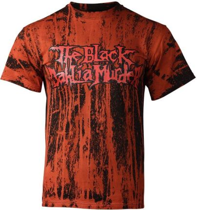 UNDERGROUND FASHION KOSZULKA THE BLACK DAHLIA MURDER BARWIONA - Ceny i opinie T-shirty i koszulki męskie EJHK