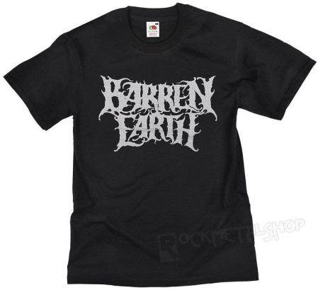 OMERCH LTD KOSZULKA BARREN EARTH - SILVER LOGO - Ceny i opinie T-shirty i koszulki męskie BESH