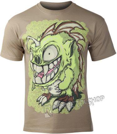 BLACK ICON KOSZULKA - MONSTGREEN (MICON085 KHAKI) - Ceny i opinie T-shirty i koszulki męskie WOWD