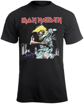 ROCK OFF KOSZULKA IRON MAIDEN - NEW YORK - Ceny i opinie T-shirty i koszulki męskie XPXV