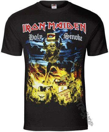 ROCK OFF KOSZULKA IRON MAIDEN - HOLY SMOKE - Ceny i opinie T-shirty i koszulki męskie ZHIO