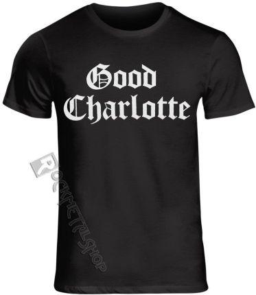 PLASTIC HEAD KOSZULKA GOOD CHARLOTTE - WHITE PUFF LOGO - Ceny i opinie T-shirty i koszulki męskie TEUC