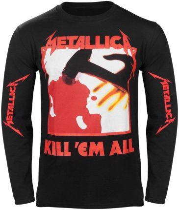 ATMOSPHERE APPAREL LONGSLEEVE METALLICA - KILL EM ALL - Ceny i opinie T-shirty i koszulki męskie ELOS