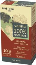 Venita Herbal Hair Color Ziołowa Farba Do Włosów 6.46 Chna 100G