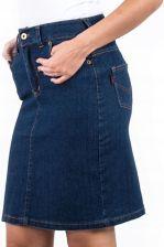 Spódnica jeansowa z paskiem r. 48 NOWA