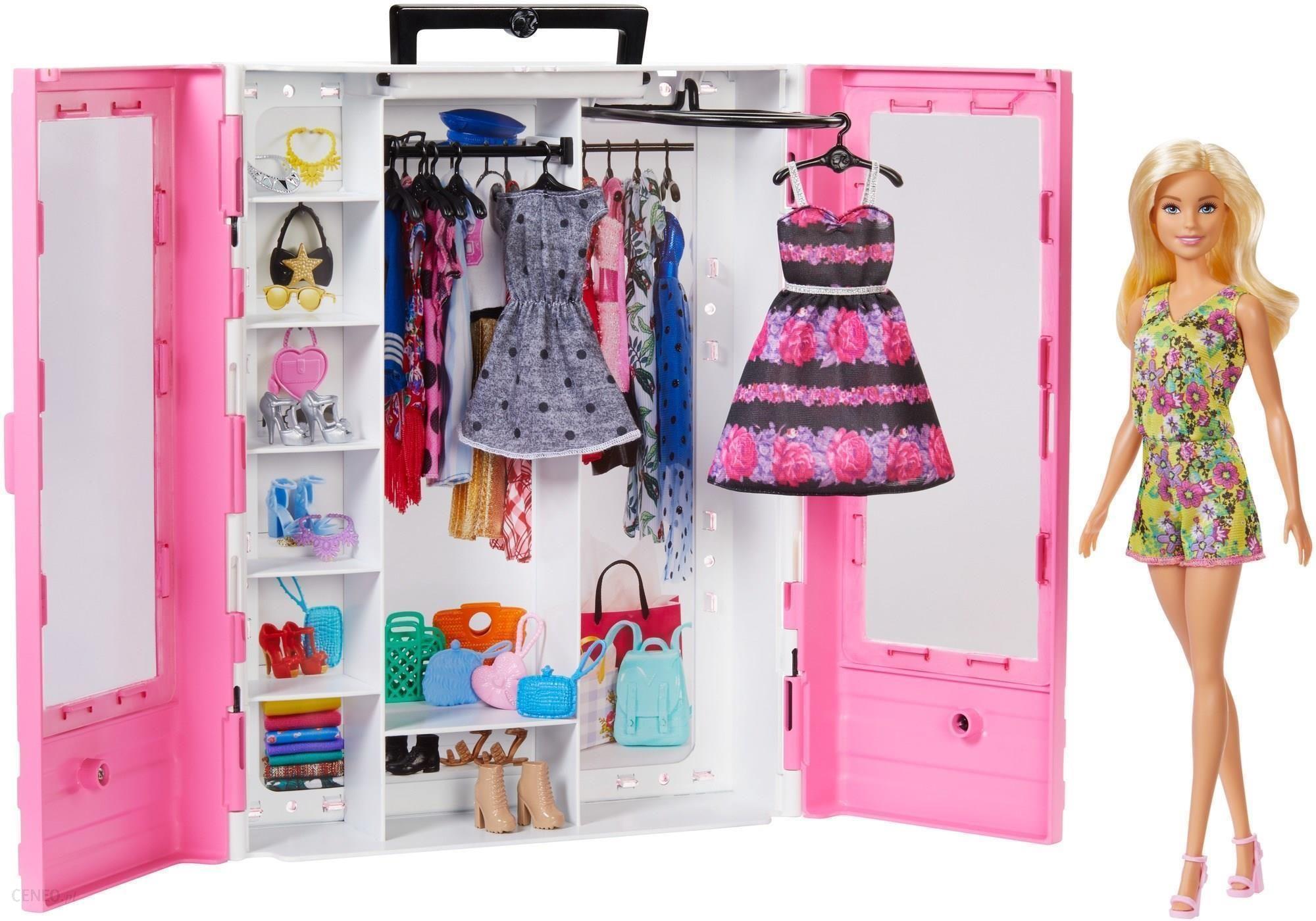Lalka Barbie Fashionistas Szafa Na Ubrania Lalka Gbk12 Ceny I Opinie Ceneo Pl