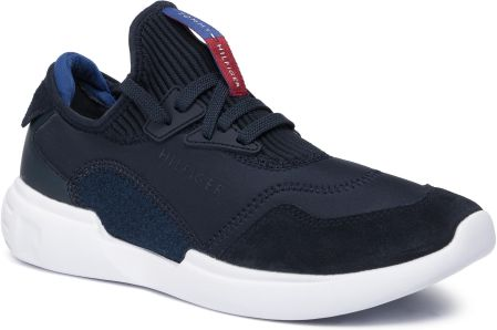 Sneakersy TOMMY HILFIGER - Corporate Mix Modern Runner FM0FM02382 Midnight 403