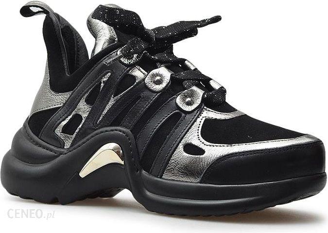 Sneakersy Venezia 064702119K Czarne Ceny i opinie Ceneo.pl