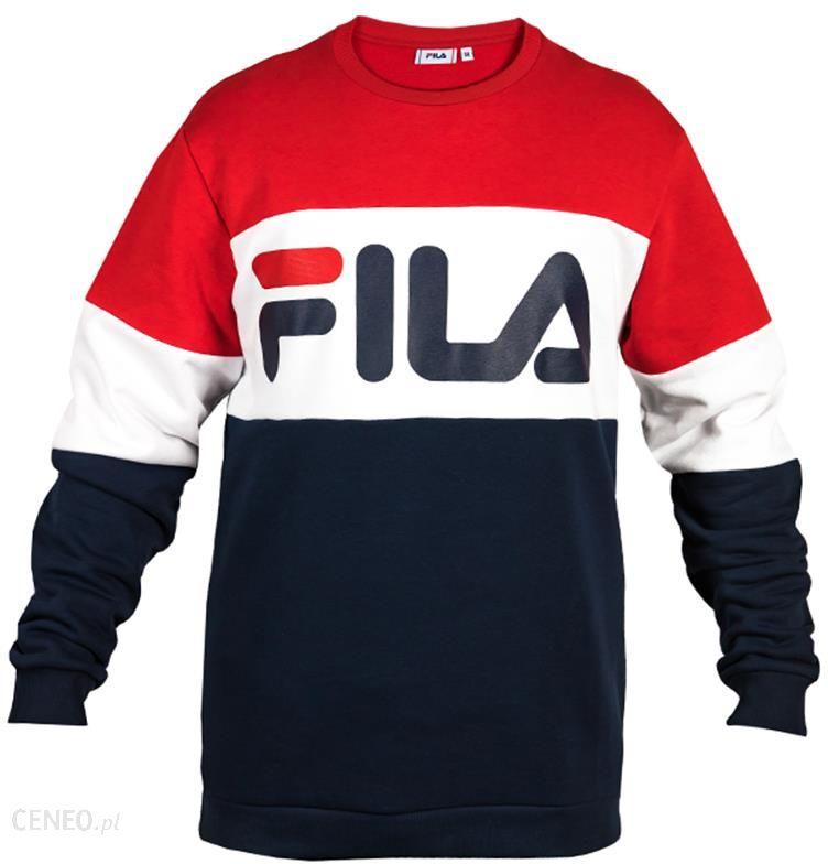 Bluza Fila Straight Blocked Crew 681255 G06 Ceny i opinie Ceneo.pl