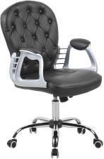 Krzesło biurowe białe regulowana wysokość Lucio kod